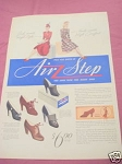1940 Air Step Women's Shoes Ad