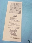 1945 South Africa Ad Jungle Oats Original Quick Cooker