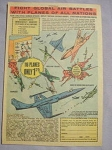 1964 Ad 116 Planes Toy Set Fight Global Battles With Planes of All Nations