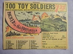 1963 Ad 100 Toy Soldiers by Josely Co., Carle Place, Long Island, N. Y.