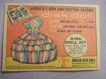 1959 Ad Disk Doll Kit by Avalon Disk Doll, Brooklyn, N. Y.