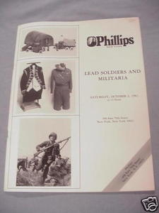 Lead Soldiers and Militaria 1982 Auction Catalog