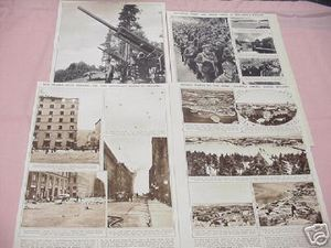 1939 Russo-Finnish World War II 6 Page Magazine Article