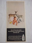 1969 ZBT Baby Powder Color Ad
