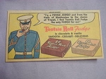 1962 Ad Tootsie Roll Fudge with Marine Fudge Judge