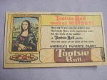 1962 Ad Tootsie Roll Makes History Mona Lisa