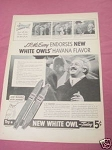 1940 White Owl Cigars Ad with J. P. McEvoy, Author