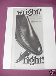1967 Wright Arch Preserver Shoes Ad Rockland, Mass.
