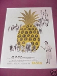 1958 Hawaii Ad Dole Hawaiian Pineapple Company, Ltd.