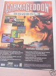 1999 Ad Carmageddon Video Game