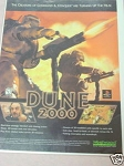 1999 Ad Dune 2000 Video Game Westwood Studios
