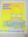 1999 Nestle Butterfinger Ad With Homer Simpson