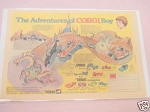 1972 Corgi Ad The Adventures of Corgi Boy