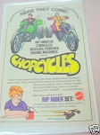 1972 Ad Mattel Chopcycles