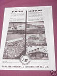 1958 Hawaii Ad Hawaiian Dredging & Construction Co. Ltd