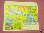 1983 Ad Estes Model Rockets Space Shuttle Columbia