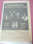 1977 Poster Ad Steve Austin Jamie Somers Donny & Marie