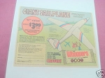 1979 Ad Whoppers Malted Milk Balls Giant Sailplane