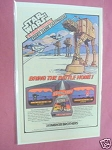 1982 Ad Star Wars The Empire Strikes Back Video Game