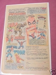 1977 Superheroes Ad Marvel Patches and Puzzle Books