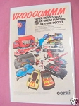 1980 Ad Corgi Superheroes Cars Superman, Batman, Shazam