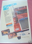1981 Ad Monogram Models 1/16th Kenworth Truck