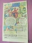 1980 Heroes World Ad Marvel Comics, 1980 Calendars