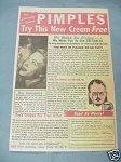 1951 Pimple Cream Ad The Tri-Son-Ol Company
