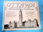 1927 Ad Ottawa The Capital of the Dominion of Canada