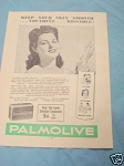 1945 South Africa Ad Palmolive Soap