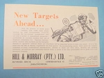 1945 South Africa Ad Hill & Murray PTY LTD Sales Agents