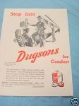 1945 South Africa Ad Dugson Clothing Manufacturers