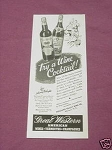 1942 Great Western American Wines Ad