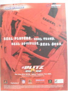 2001 Ad Video Game Blitz 2002