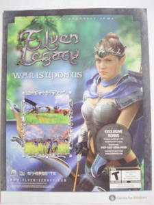 2009 Ad PC Game Elven Legacy War Is Upon Us