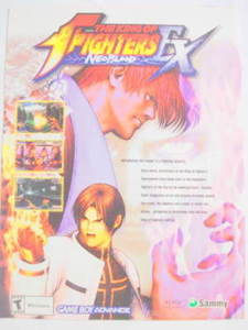 2002 Ad Video Game The King of Fighters Neoblood