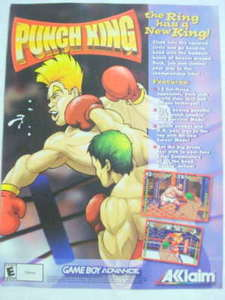 2002 Ad Video Game Punch King by Acclaim