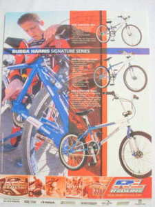 2002 Ad Redline Bicycles Bubba Harris Signature Series
