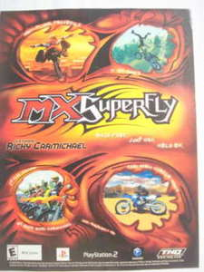 2002 Ad Video Game MX Superfly Ricky Carmichael