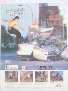 2002 Ad Video Game Aggressive Inline by Acclaim
