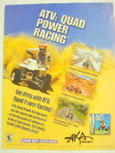 2002 Ad Video Game ATV: Quad Power Racing by Acclaim