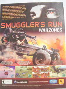 2002 Ad Video Game Smuggler's Run Warzones