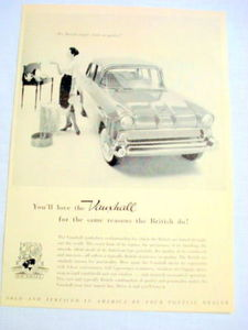 1959 Automobile Ad The Vauxhall Made In England