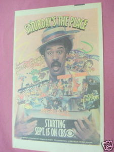 1984 CBS Saturday Morning Cartoons Ad Richard Pryor