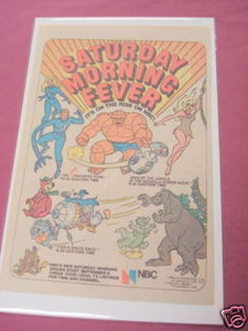 1978 NBC Saturday Morning Cartoons Ad Godzilla Hour