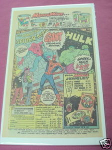 1978 Marvel Toy Ad Marvel Ware, Coloring Books, Jewelry
