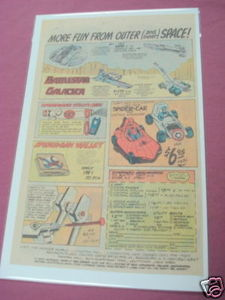 1978 Toys Ad Battlestar Galactica and Spider-Man