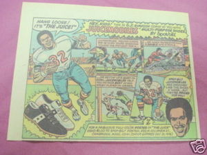 1976 Ad Juicemobiles Athletic Shoes O. J. Simpson