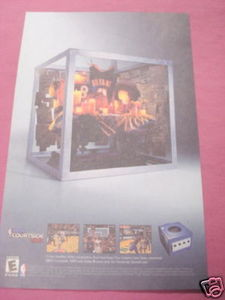 2002 Color Ad NBA Courtside 2002 Video Game