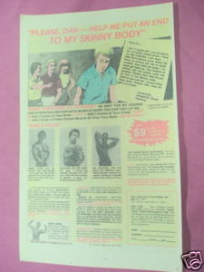 1979 Bodybuilding Ad Anibal Lopez Don Ross Joe Spooner